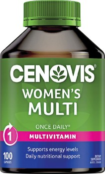 Cenovis-Once-Daily-Womens-Multi-100-Capsules on sale
