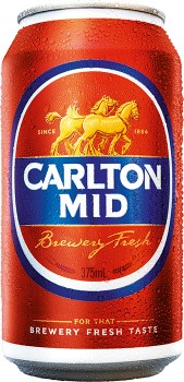Carlton-Mid-Cans-375mL on sale