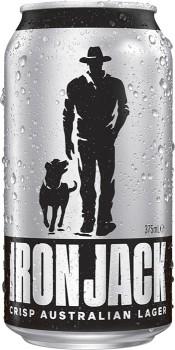 Iron-Jack-Crisp-Lager-Cans-30-Block-375mL on sale