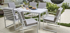 Byron-6-Seater-Aluminium-Dining-Setting on sale