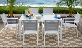 Alexandra-6-Seater-Aluminium-Dining-Setting on sale