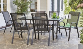 Aiden-6-Seater-Steel-Dining-Setting on sale