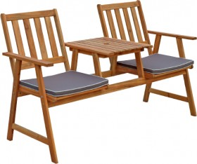 Jack-Jill-2-Seater-Timber-Bench on sale