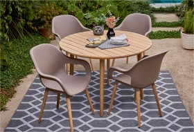 Idaho-4-Seater-Timber-Caf-Setting on sale