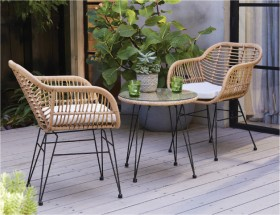 Cayman-2-Seater-Wicker-Caf-Setting on sale