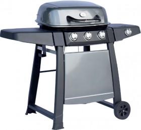 Grilled-3-Burner-Hooded-BBQ-with-Side-Burner on sale