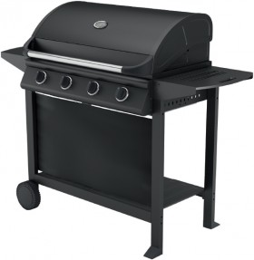 Ozzie-4-Burner-Hooded-BBQ-with-Trolley on sale