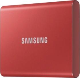 Samsung-500GB-T7-Portable-SSD-Metallic-Red on sale