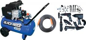 Black-Ridge-28-Piece-Air-Compressor-Combo on sale