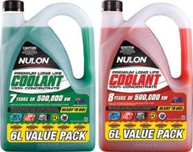 These-Nulon-6L-Concentrate-Anti-FreezeAnti-Boil-Coolants on sale