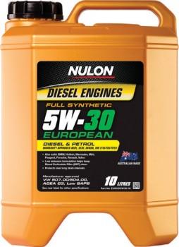 Nulon-Full-Synthetic-European-Engine-Oil on sale