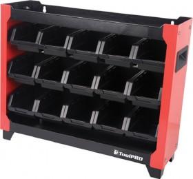 ToolPRO-Stackable-Bin-Rack on sale