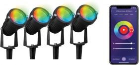 4-Pack-Smart-Garden-Lights on sale