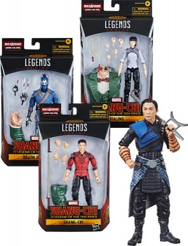 NEW-Marvel-Shang-Chi-Assorted-Legends on sale