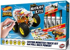 NEW-Hot-Wheels-DIY-Monster-Truck-Maker-Kitz on sale
