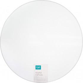 Craft-Smart-Canvas-Round-35cm on sale