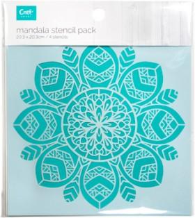 Craft-Smart-4-Pack-Stencil-Mandala on sale