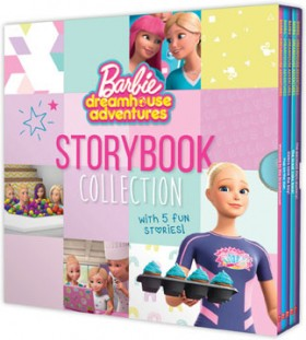 NEW-Barbie-Dreamhouse-Adventures-Storybook-Collection on sale
