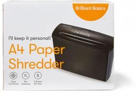 Brilliant-Basics-5-Sheet-Shredder on sale