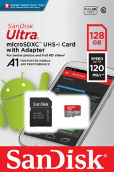 NEW-SanDisk-Ultra-Micro-SD-Card-128GB on sale