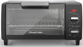 Russell-Hobbs-Mini-Toaster-Oven-Black on sale