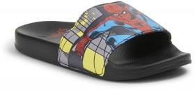 Spider-Man-Kids-Printed-Slides-Black on sale