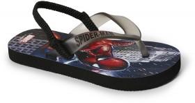 Spider-Man-Kids-Printed-Thongs-Black on sale
