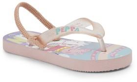 Peppa-Pig-Kids-Thongs-Pink on sale