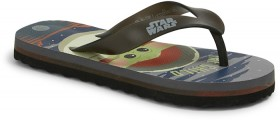 Star-Wars-Kids-Light-Up-Thongs-Black on sale