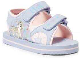 Disney-Girls-Frozen-2-Tab-Sandals-Lilac on sale
