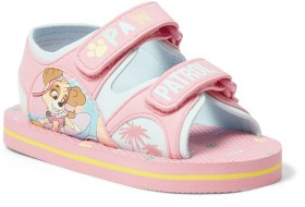 Paw-Patrol-Girls-Tab-Sandals-Pink on sale