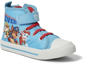 Paw-Patrol-Boys-High-Top-Shoes-Blue on sale