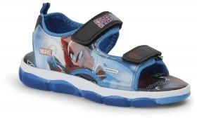 Spider-Man-Boys-Light-Up-Sandals-Blue on sale