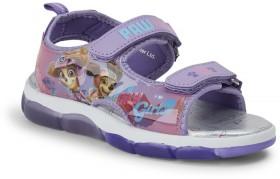 Paw-Patrol-Girls-Light-Up-Sandals-Purple on sale