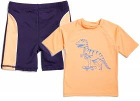 Wave-Zone-Kids-Short-Sleeve-Rashie-or-Trunks on sale