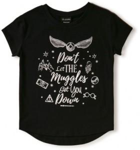Harry-Potter-Kids-Muggles-Tee on sale