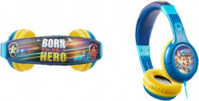 NEW-Paw-Patrol-Movie-Wired-Auxiliary-Headphones-Born-to-be-a-Hero on sale