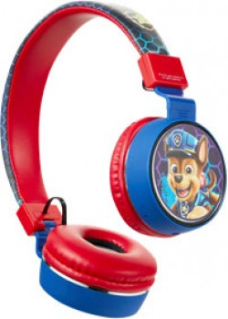 NEW-Paw-Patrol-Chase-Bluetooth-Headphones-with-Built-in-Mic on sale