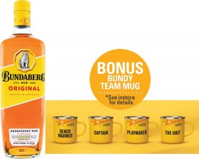 Bundaberg-UP-Rum-1-Litre on sale