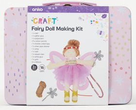 16-Piece-Fairy-Doll-Making-Kit on sale