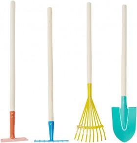 4-Pack-Wooden-Garden-Tools-Set on sale