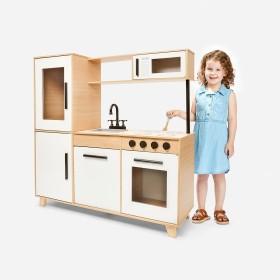 NEW-Wooden-Retro-Kitchen on sale