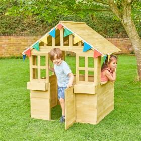 Playhouse-Wood-Cubby on sale