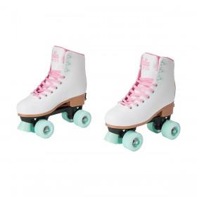 Roller-Skates-White on sale