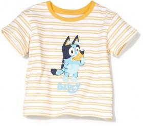 Short-Sleeve-Bluey-License-Stripe-T-Shirt on sale