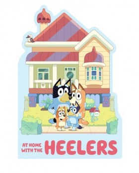 Bluey-At-Home-with-the-Heelers-Book on sale