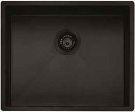 NEW-Oliveri-Spectra-Single-Bowl-Sink-Black on sale