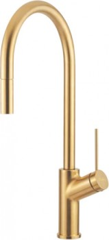 NEW-Oliveri-Pull-Out-Mixer-Tap-Vilo-Gold on sale