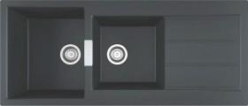 Franke-Sirius-Tectonite-Carbon-Black-Sink on sale