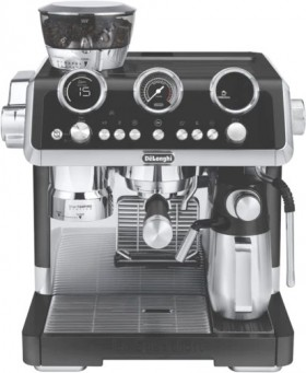 DeLonghi-La-Specialista-Maestro-Manual-Coffee-Machine-Matte-Black on sale